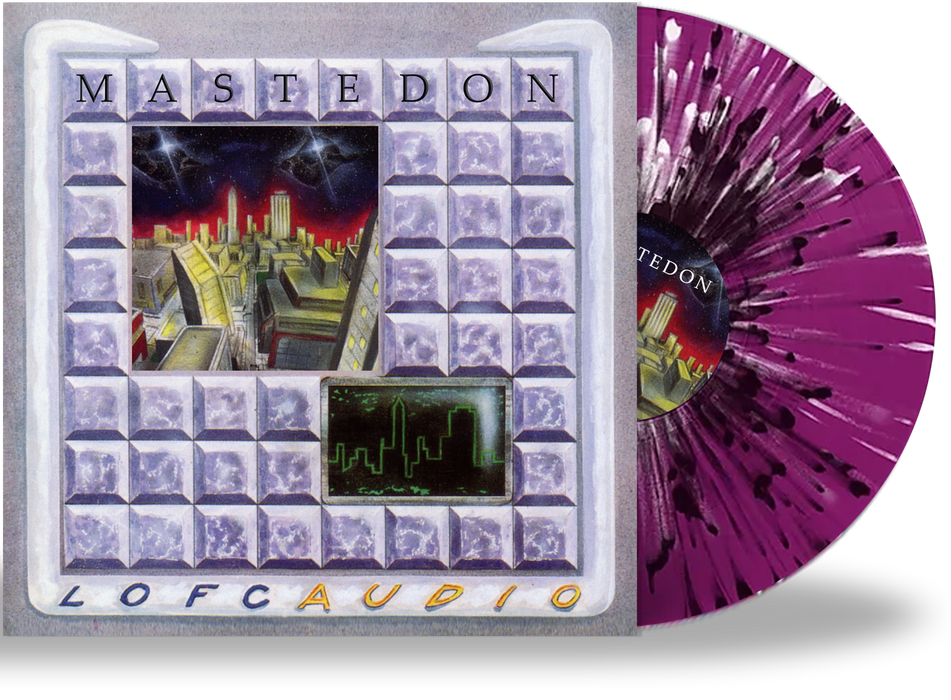 Mastedon - Lofcaudio (Limited 200 Run Splatter Vinyl) - Christian Rock, Christian Metal