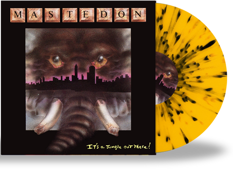 Mastedon - It's a Jungle Out There (Limited 200 Run Splatter Vinyl)
