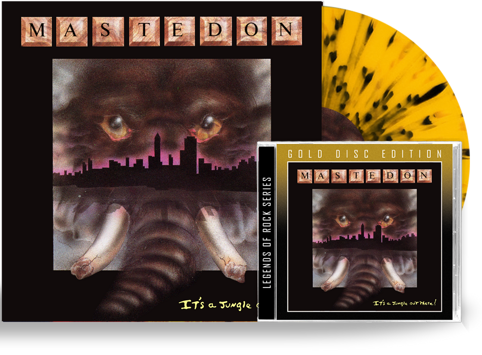 Mastedon - It's a Jungle Out There Bundle (Limited 200 Run Splatter Vinyl + Gold Disc CD) - Christian Rock, Christian Metal