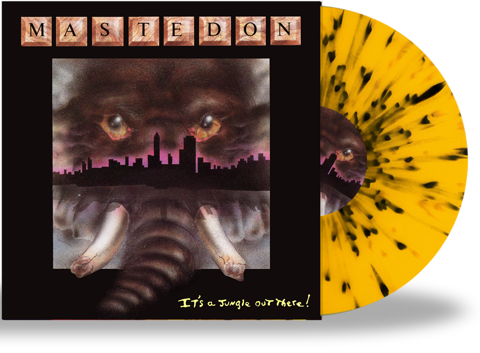 Mastedon - It's a Jungle Out There (Limited 200 Run Splatter Vinyl) - Christian Rock, Christian Metal