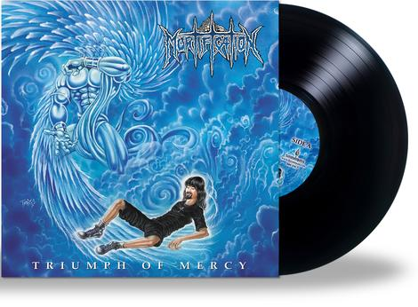 MORTIFICATION - TRIUMPH OF MERCY (BLACK VINYL, 2020, Soundmass) ***Limited Edition