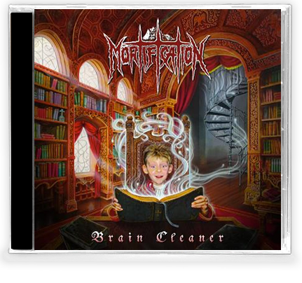 Mortification - Brain Cleaner (CD) - Christian Rock, Christian Metal