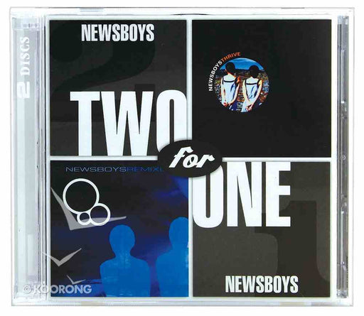Newsboys - Two for One Thrive and Remixed (CD) - Christian Rock, Christian Metal