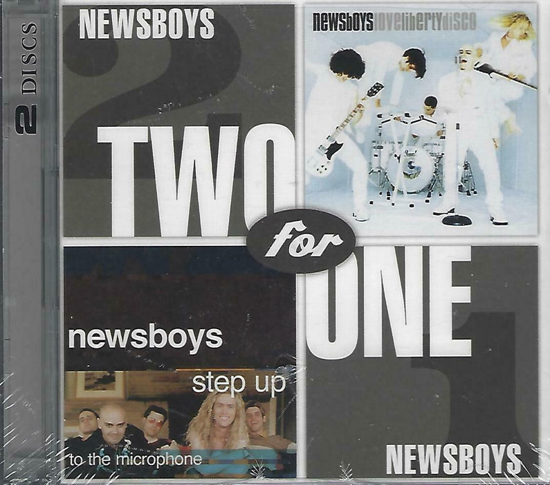 Newsboys - Two for One Step up & Love Liberty (CD) - Christian Rock, Christian Metal