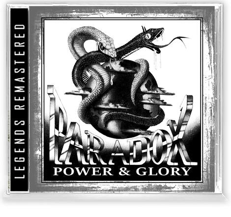PARADOX - POWER & GLORY (*NEW-CD, 2020, Retroactive) For fans of Stryper/Sacred Warrior/Recon