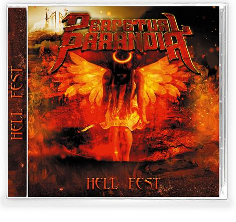 PERPETUAL PARANOIA - HELL FEST (*NEW-CD, 2021, Retroactive Records) Dale Thompson from Bride - guitar heroics from Tiago