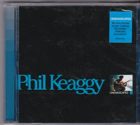 Phil Keaggy - Cinemascapes (CD) - Christian Rock, Christian Metal