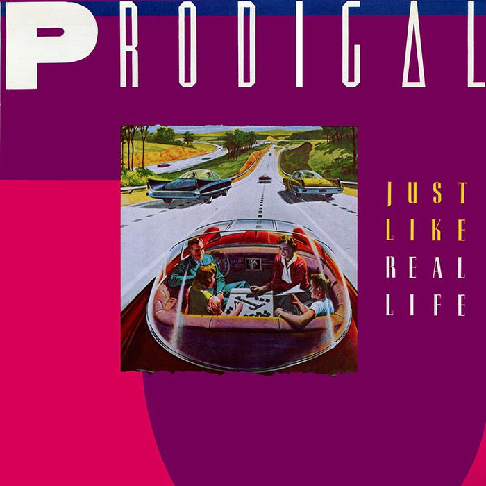 PRODIGAL - JUST LIKE REAL LIFE (*NEW-CD, 2018) - Christian Rock, Christian Metal