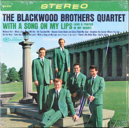 The Blackwood Brothers - With a Song On My Lips (Vinyl)