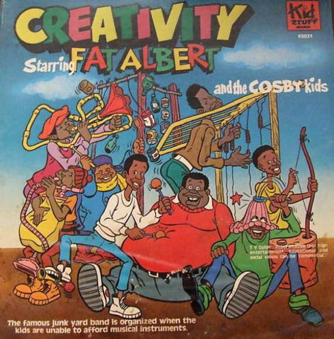 Fat Albert and the Cosby Kids- Creativity- Kid Stuff Records (Vinyl)