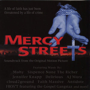 Mercy Streets Soundtrack (CD) MOBY/ SIXPENCE NONE THE RICHER