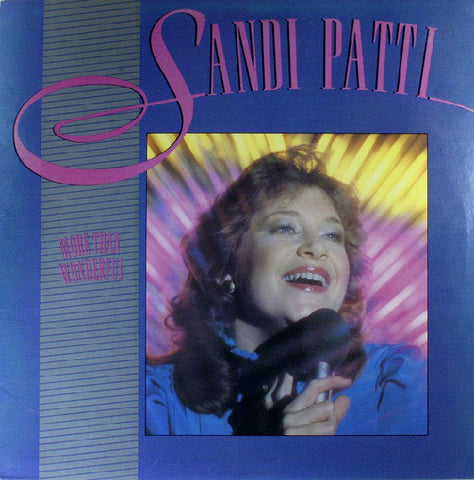 Sandi Patti - More Than Wonderful (Used Vinyl)