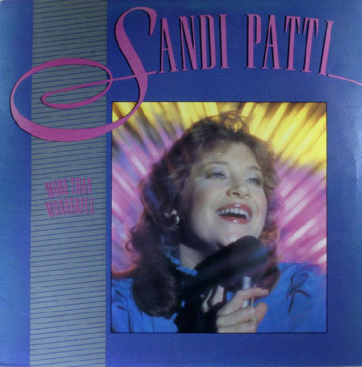 Sandi Patti - More Than Wonderful (Used Vinyl) - Christian Rock, Christian Metal