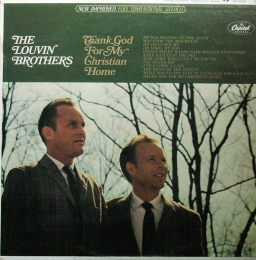 The Louvin Brothers - Thank God For My Christian Home (Vinyl)