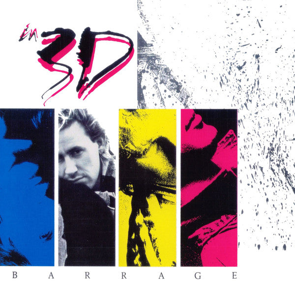 In 3D - Barrage (Used Vinyl) 1987 REFUGE