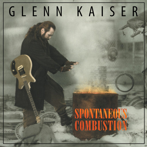 Glenn Kaiser - Spontaneous Combustion (CD) Rez Band Frontman, Blues