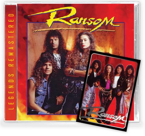 RANSOM - RANSOM +4 Bonus + Trading Card (*NEW-CD, 2021)