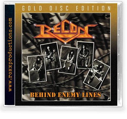 Recon - Behind Enemy Lines (GOLD DISC CD) 2020