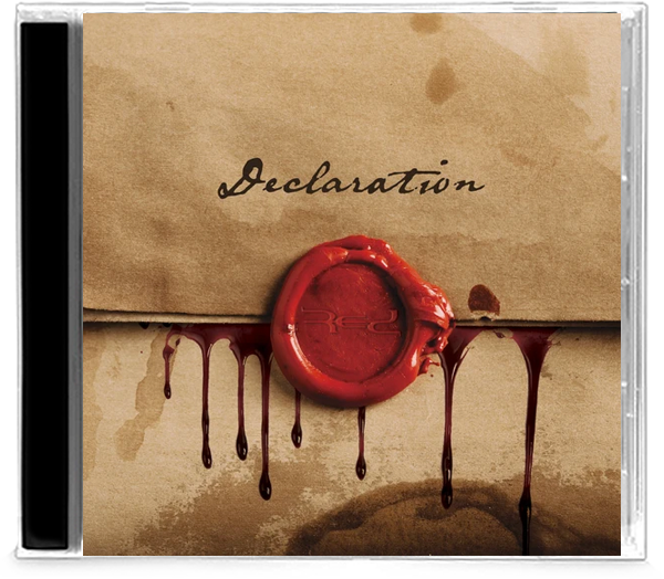Red - Declaration (CD) - Christian Rock, Christian Metal