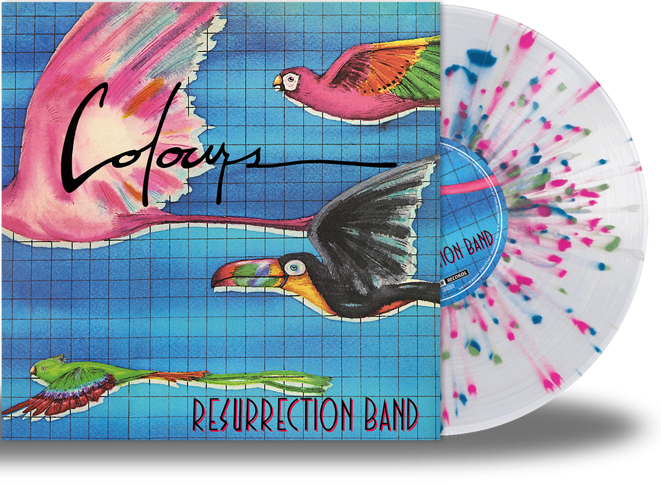Resurrection Band – Colours (Limited Run Vinyl) 3 Colors, Gatefold Jacket + Band Poster