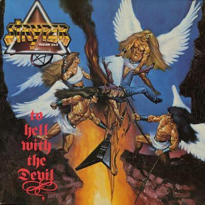 STRYPER - TO HELL WITH THE DEVIL (1986, Vinyl, Enigma) ANGEL ARTWORK - Christian Rock, Christian Metal