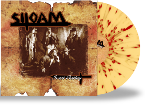 SILOAM - SWEET DESTINY (*NEW-SPLATTER VINYL, 2020, Retroactive) - Christian Rock, Christian Metal