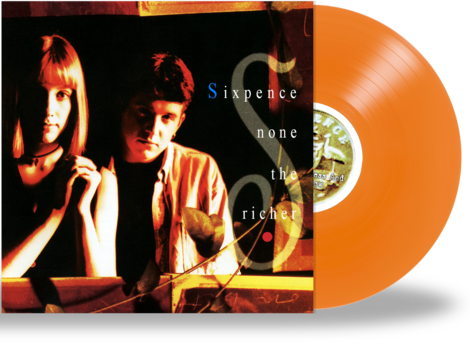 SIXPENCE NONE THE RICHER - THE FATHERLESS & THE WIDOW (*NEW-Orange Vinyl, Retroactive, 2020) - Christian Rock, Christian Metal
