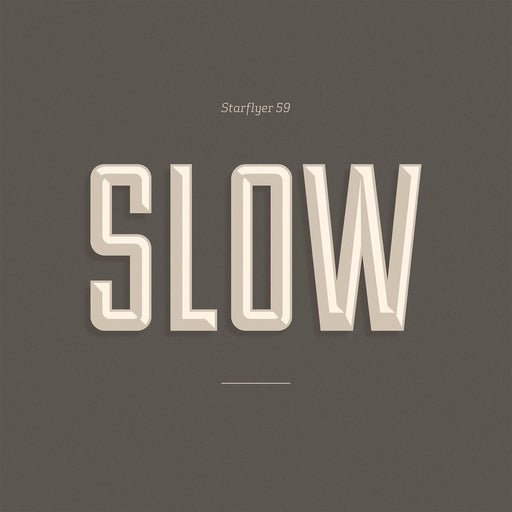 Starflyer 59- Slow (CD) - Christian Rock, Christian Metal