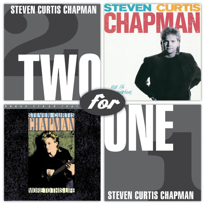 Steven Curtis Chapman - Real Life Conversations/ More To This Life (CD) - Christian Rock, Christian Metal