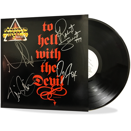 Stryper  - To Hell With The Devil (Vinyl) Autographed - Christian Rock, Christian Metal