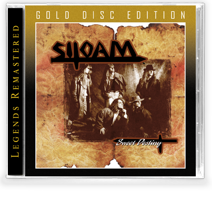 SILOAM - SWEET DESTINY (*NEW-CD-GOLD DISC EDITION, 2020, Retroactive) - 500 Unit Pressing - Christian Rock, Christian Metal