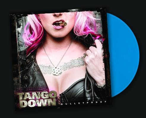 TANGO DOWN - BULLETPROOF (*NEW-2018, BLUE VINYL, Brutal Planet Records) ***PRE-ORDER ONLY!!!