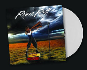 ROMEO RIOT - SING IT LOUD!  (*NEW-2018, WHITE VINYL, Brutal Planet Records) ***PRE-ORDER ONLY!!!