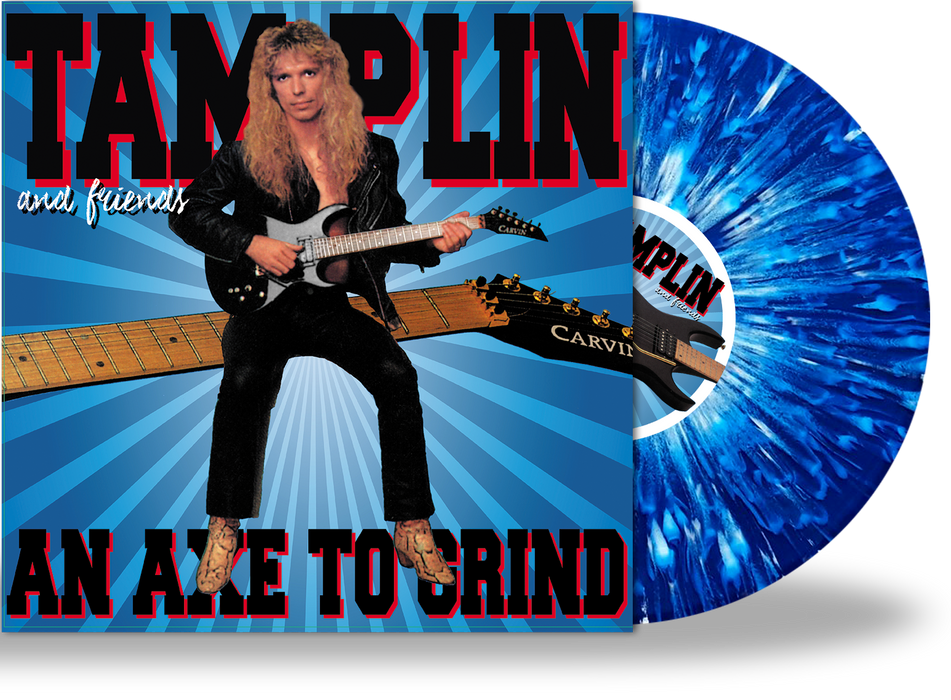 Ken Tamplin - Axe To Grind (Limited 200 Run Vinyl) Shout Magdallan - Christian Rock, Christian Metal