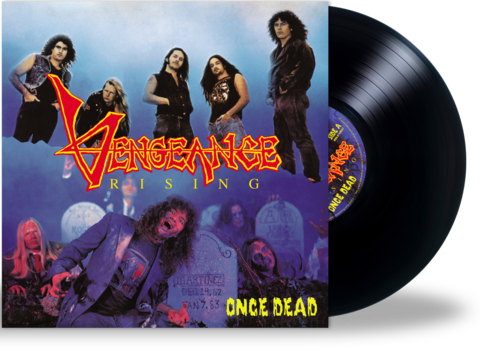 VENGEANCE RISING - ONCE DEAD (Black - Vinyl) Black (2020 Roxx) Remastered