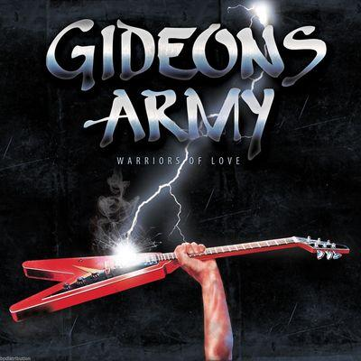 GIDEON'S ARMY - WARRIORS OF LOVE (CD) - Christian Rock, Christian Metal