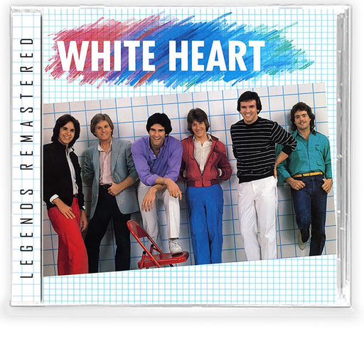 WHITE HEART - WHITE HEART + 1 Bonus + Trading Card (*NEW-CD, 2021, Retroactive) Featuring David & Dann Huff of GIANT Sale price