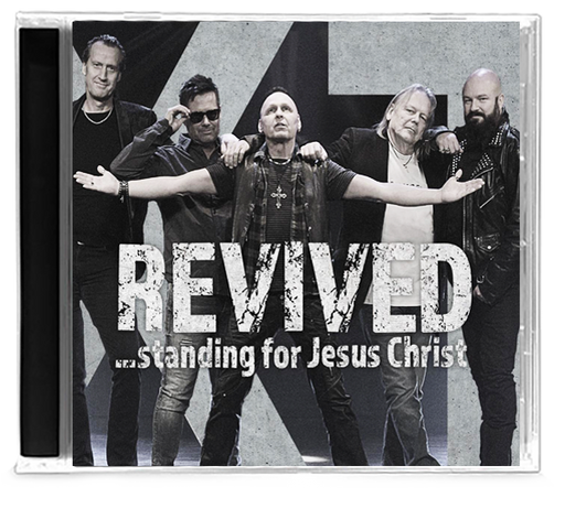 XT - REVIVED: STANDING FOR JESUS CHRIST (*NEW-CD, 2019, Talking Music) Swedish Import - Christian Rock, Christian Metal