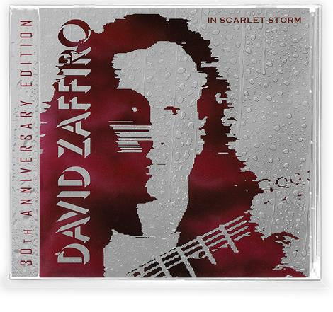 DAVID ZAFFIRO - IN SCARLET STORM (CD) 2020 Retroactive - BLOODGOOD AXEMAN!