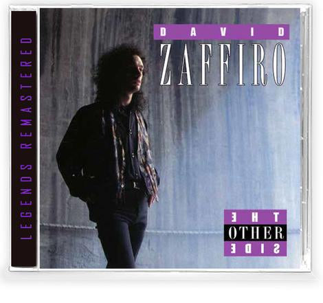 DAVID ZAFFIRO - THE OTHER SIDE (CD) 2020 Retroactive - BLOODGOOD AXEMAN!