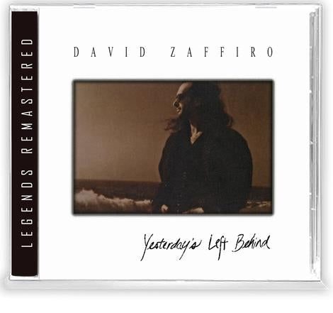 DAVID ZAFFIRO - YESTERDAY'S LEFT BEHIND (CD) BLOODGOOD, 2020 Retroactive - Featuring Stephen Patrick/Holy Soldier