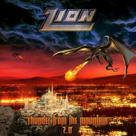 Zion ‎– Thunder From The Mountain 2.0 (*NEW-CD, 2019, Image Records) - Christian Rock, Christian Metal
