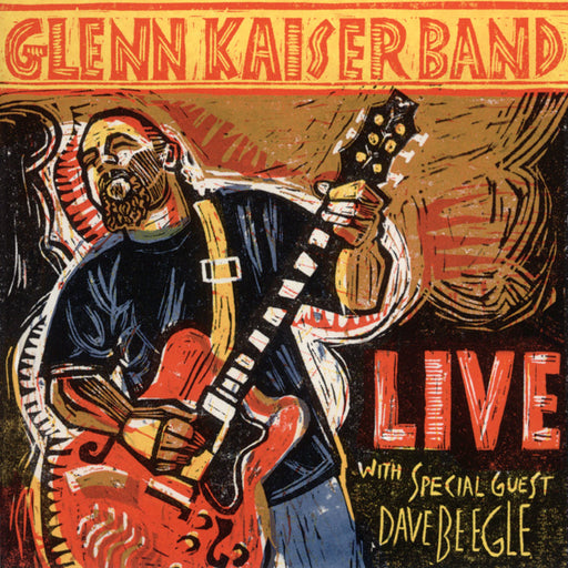 Glenn Kaiser Band Live (CD) Rez Band Frontman, Blues