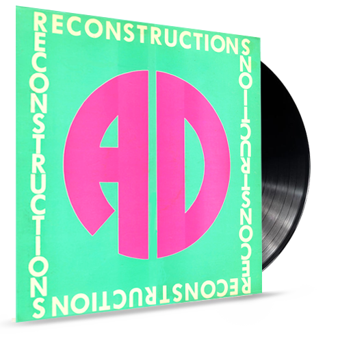 AD - Reconstructions (*Pre-Owned Vinyl - 1986 Sparrow) - Christian Rock, Christian Metal