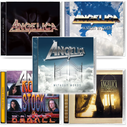 Angelica 4 Pack Bundle - Walkin' In Faith, Time Is All It Takes, Rock, Stock, Barrel, Without Words
