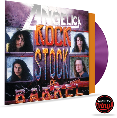 ANGELICA - ROCK, STOCK & BARREL (*COLORED 180 GRAM VINYL) LIMITED 200 UNITS