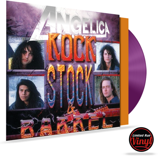 ANGELICA - ROCK, STOCK & BARREL (*COLORED 180 GRAM VINYL) LIMITED 100 UNITS - Christian Rock, Christian Metal