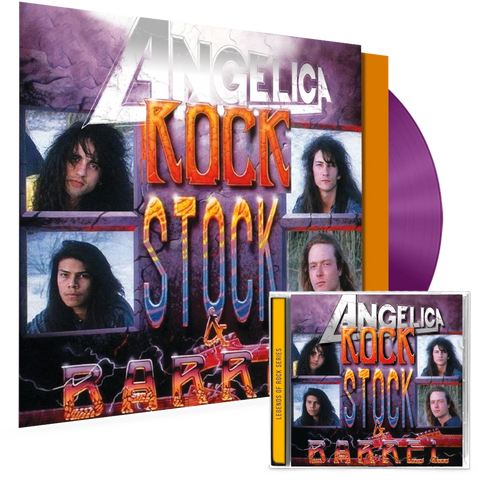ANGELICA - ROCK, STOCK & BARREL (VINYL + CD COMBO)