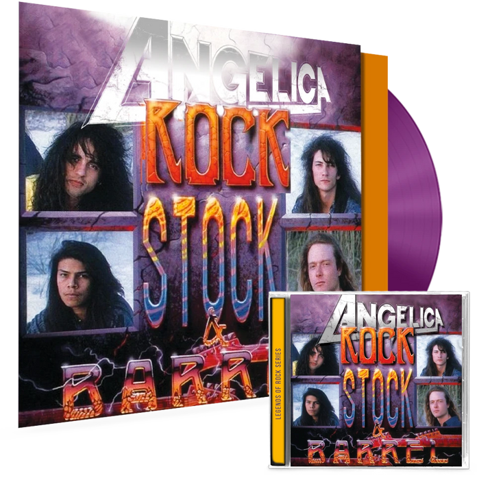 ANGELICA - ROCK, STOCK & BARREL (VINYL + CD COMBO) - Christian Rock, Christian Metal