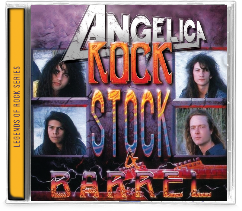Angelica - Rock, Stock and Barrel (New-CD) *2019